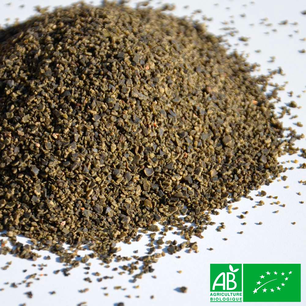 poudre d algues pures bio pour l aquaponie pot 400gr boutique aquaponie. Black Bedroom Furniture Sets. Home Design Ideas