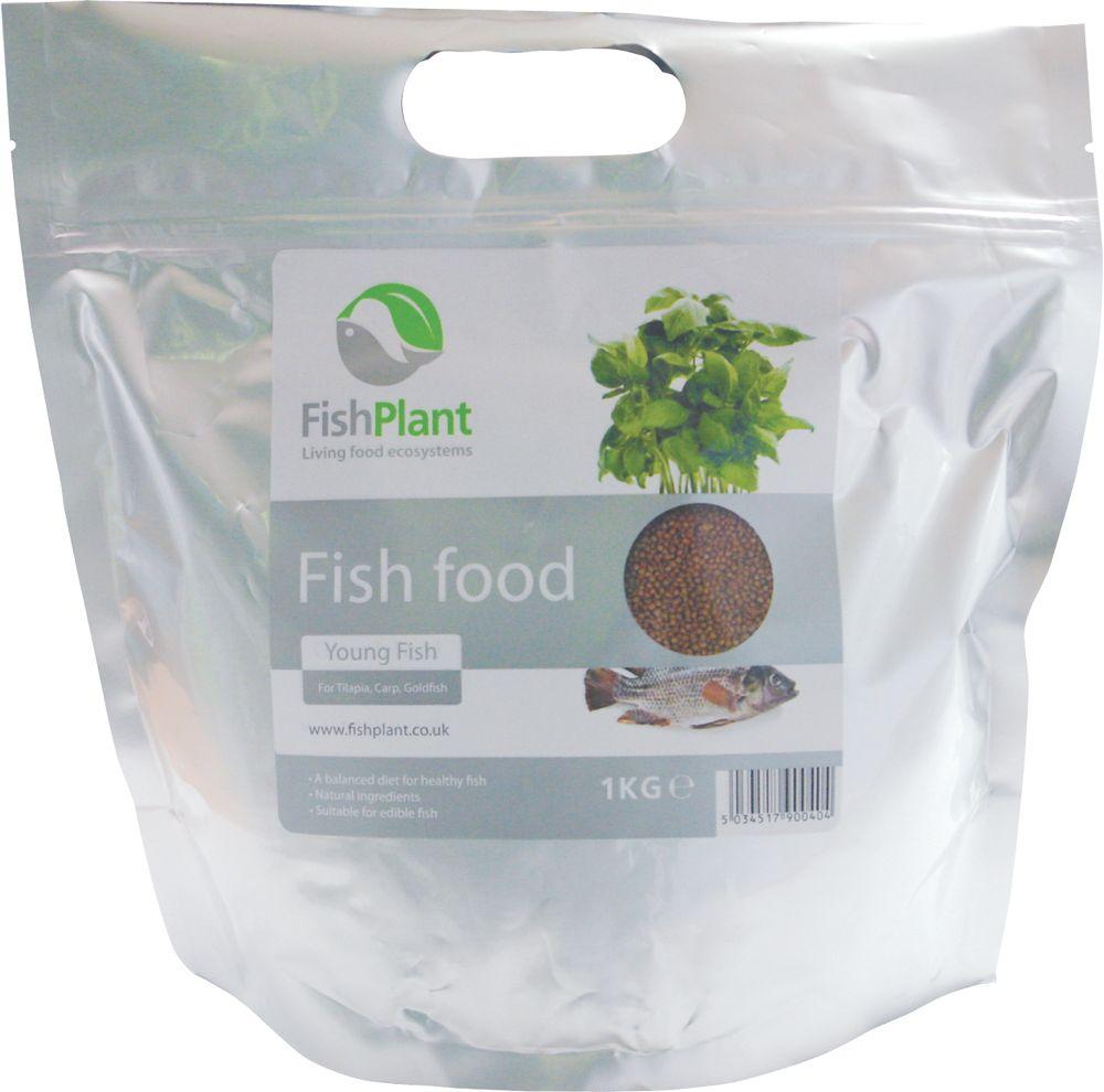1 kg nourriture enrichie sp ciale aquaponie petits for Nourriture poisson rouge aquaponie