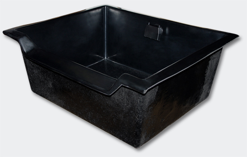 Bac empilable 100 l pour cascade boutique aquaponie for Bache plastique bassin