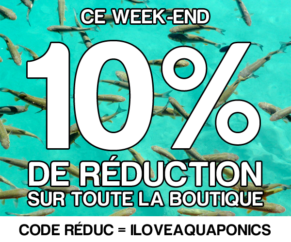 Boutique aquaponie promotion
